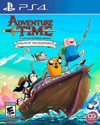 بازی Adventure Time Pirates of the Enchiridion