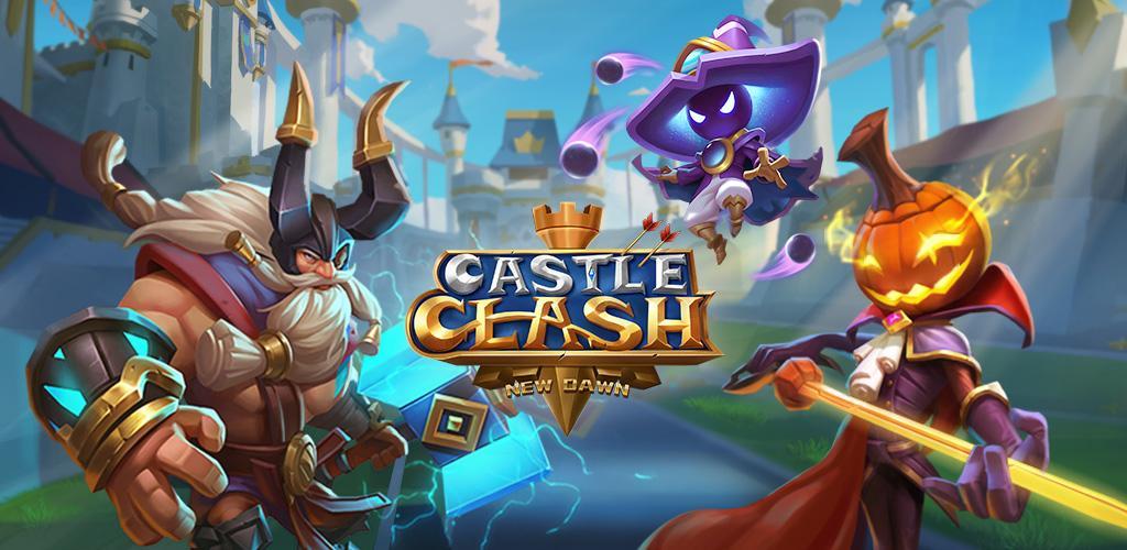 بازی Castle Clash: New Dawn
