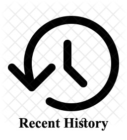 نرم افزار Recent History