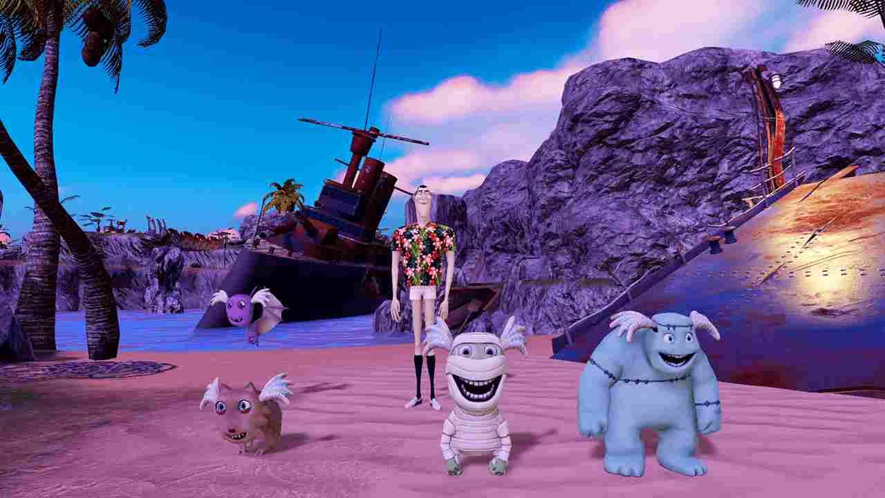 بازی Hotel Transylvania 3 Monsters Overboard
