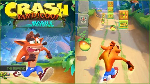 بازی Crash Bandicoot Mobile