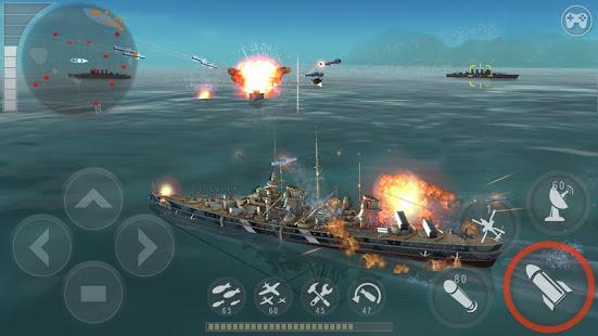 بازی WARSHIP BATTLE:3D World War II