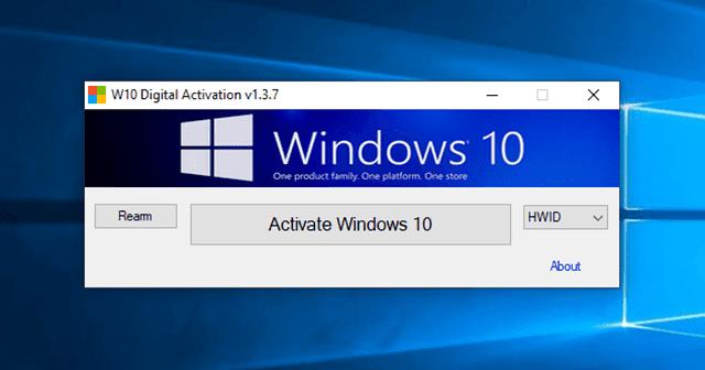 نرم افزار W10 Digital Activation