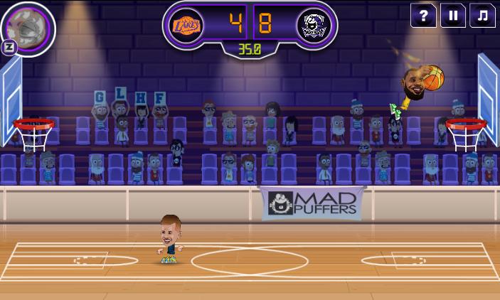 بازی Basketball Stars