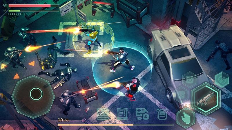 بازی Cyberika: Action Cyberpunk RPG