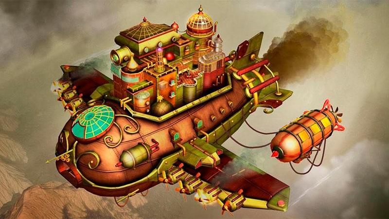 بازی Escape Machine City: Airborne