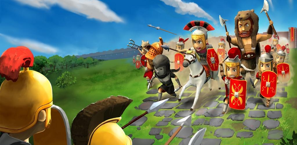 بازی Grow Empire: Rome