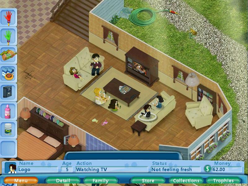 بازی Virtual Families