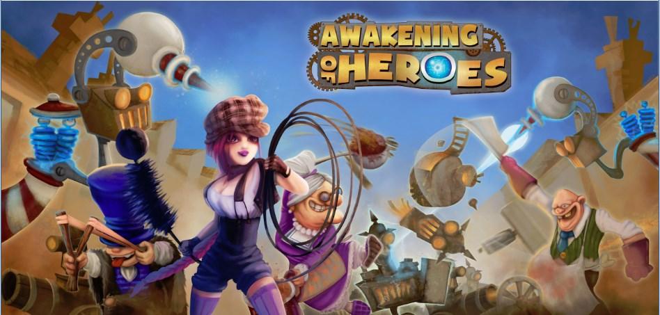 بازی Awakening of Heroes