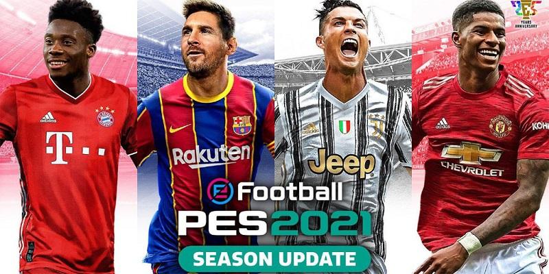 بازی 2021 eFootball PES