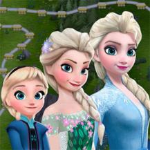 بازی Frozen Free Fall