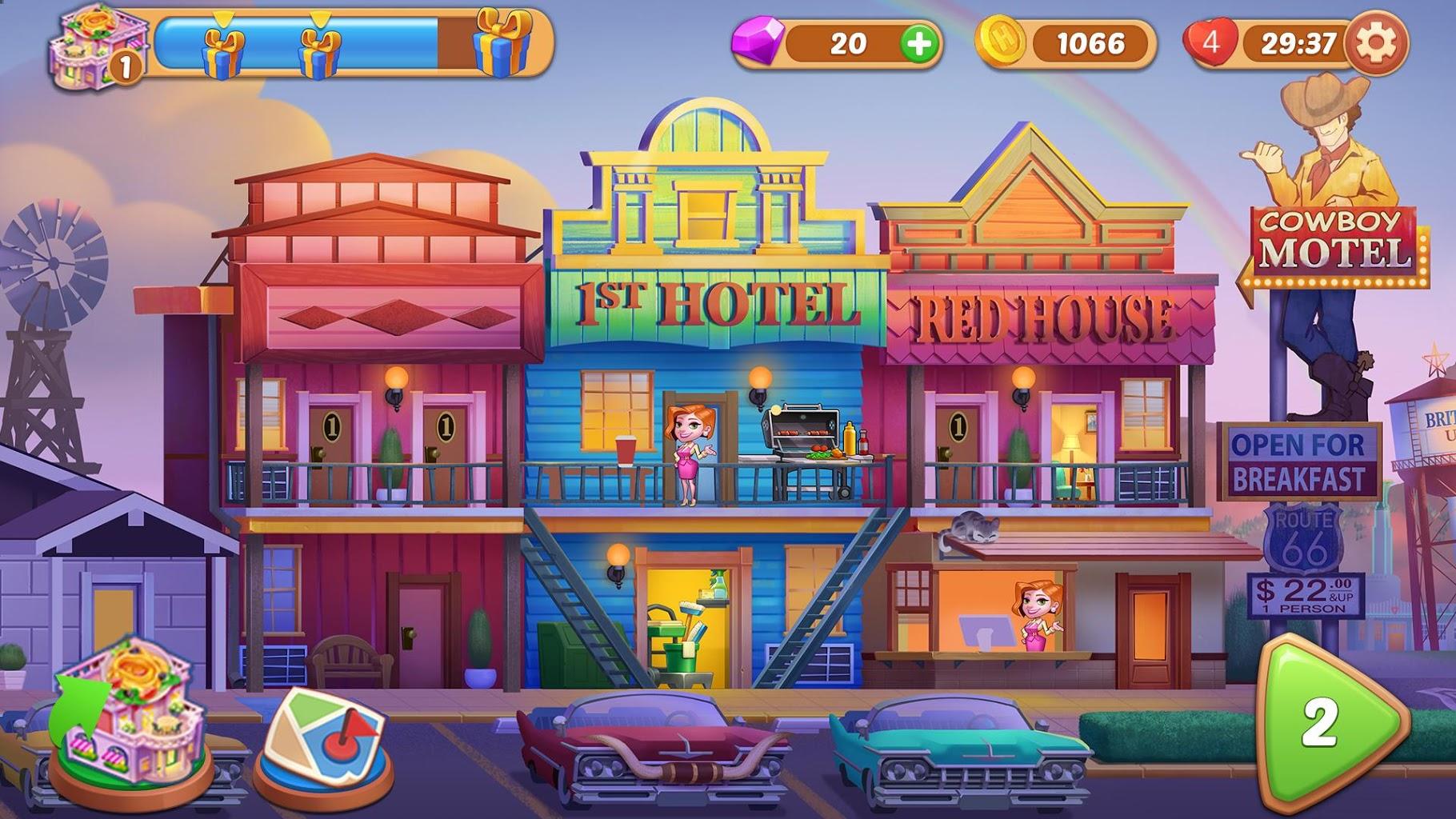 بازی Hotel Craze: Grand Hotel Story