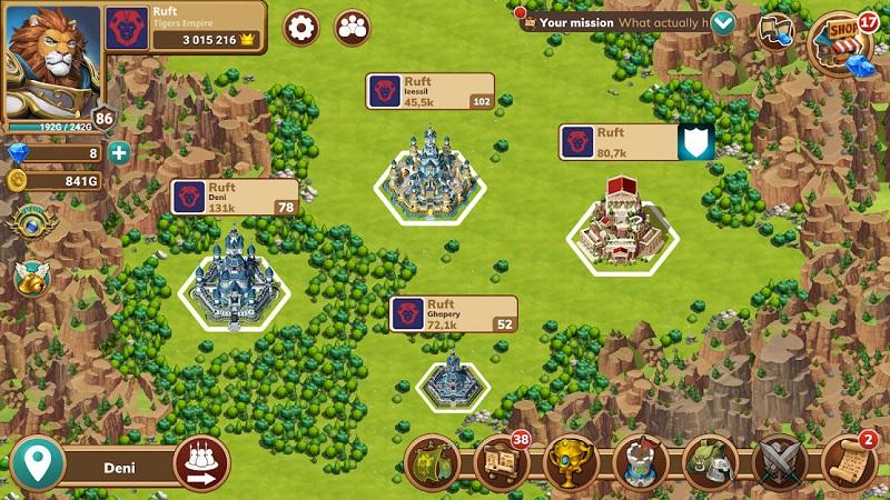 بازی Million Lords: Kingdom Conquest