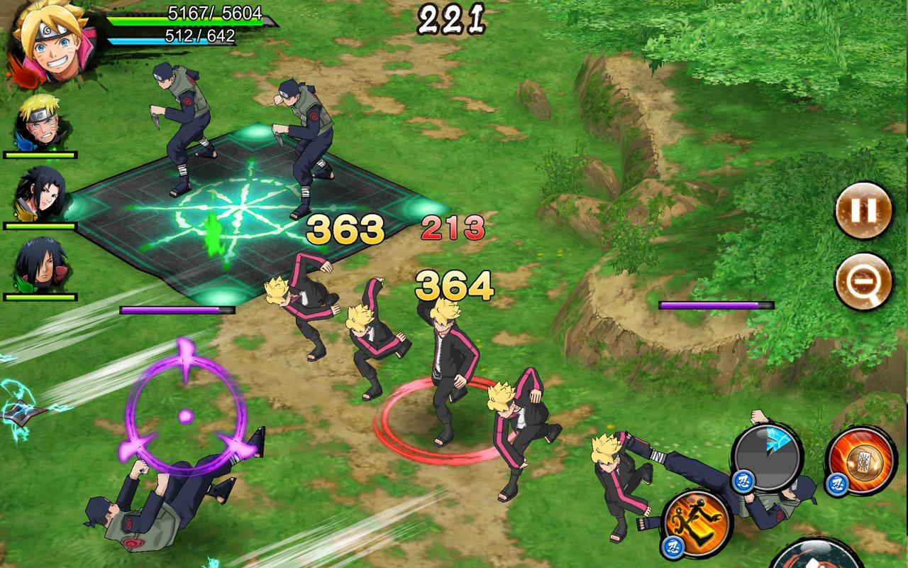 بازی NARUTO X BORUTO NINJA VOLTAGE
