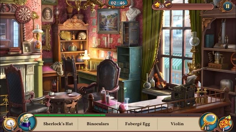 بازی Sherlock: Hidden Match-3 Cases