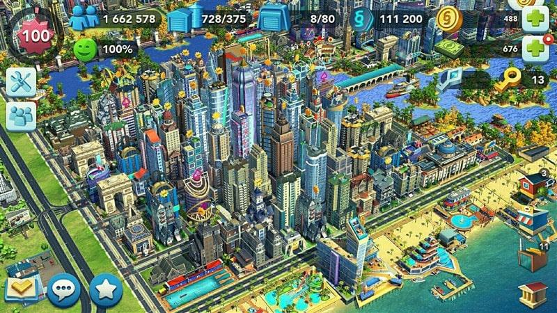 بازی SimCity BuildIt