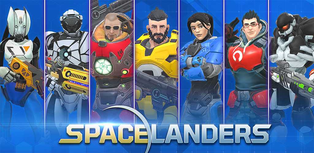 بازی Spacelanders: 3D Sci-Fi Shooter RPG