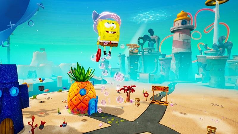 بازی SpongeBob SquarePants: BfBB