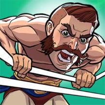 بازی The Muscle Hustle: Slingshot Wrestling