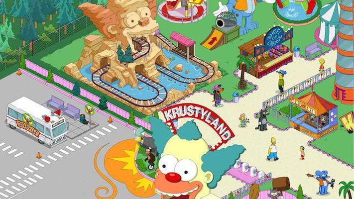 بازی The Simpsons: Tapped Out