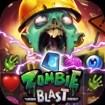 بازی Zombie Blast – Match 3 Puzzle Toon Game