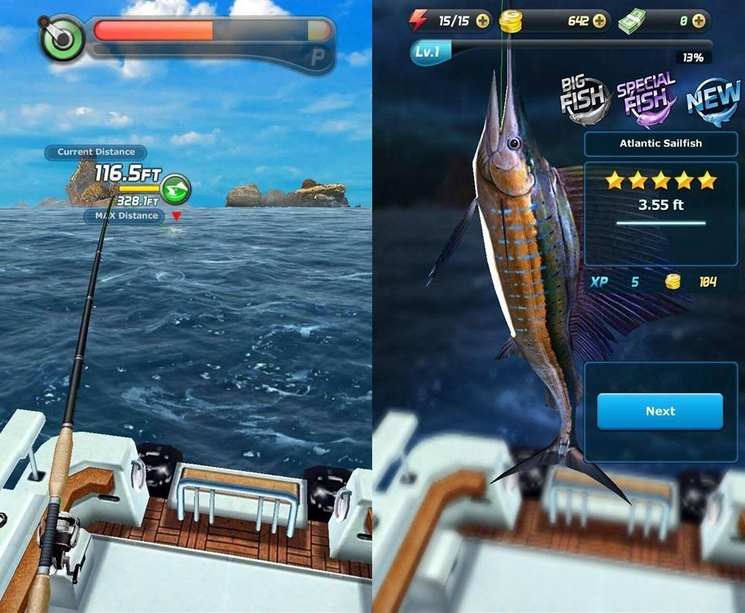 بازی Ace Fishing: Wild Catch