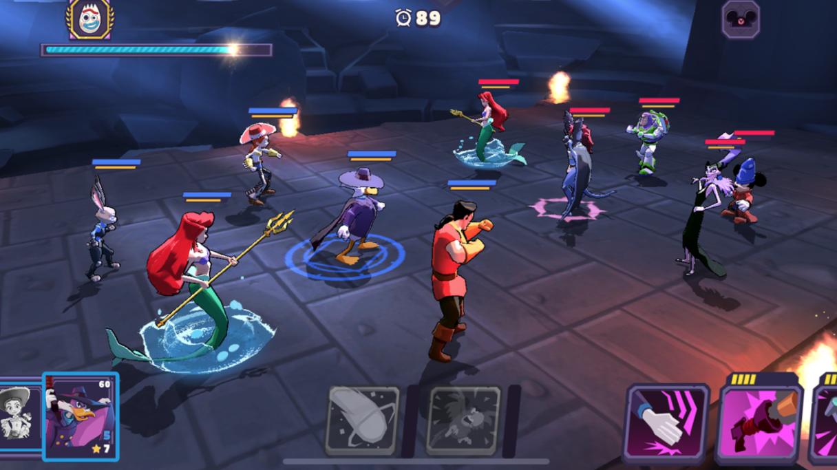 بازی Disney Sorcerers Arena