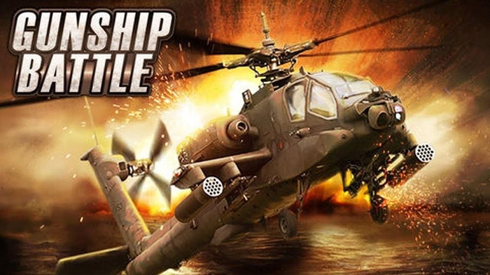 بازی Gunship Battle: Helicopter 3D