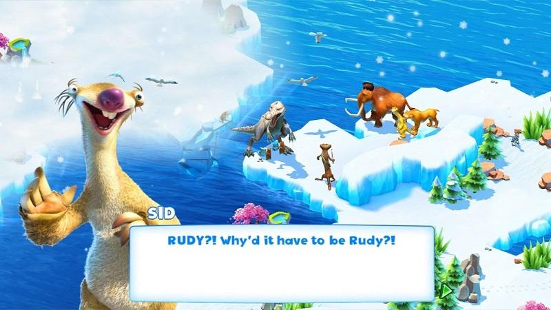 بازی Ice Age Adventures