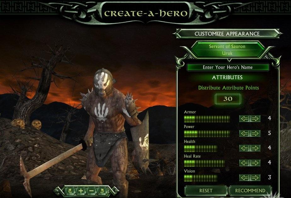 بازی Middle Earth Heroes