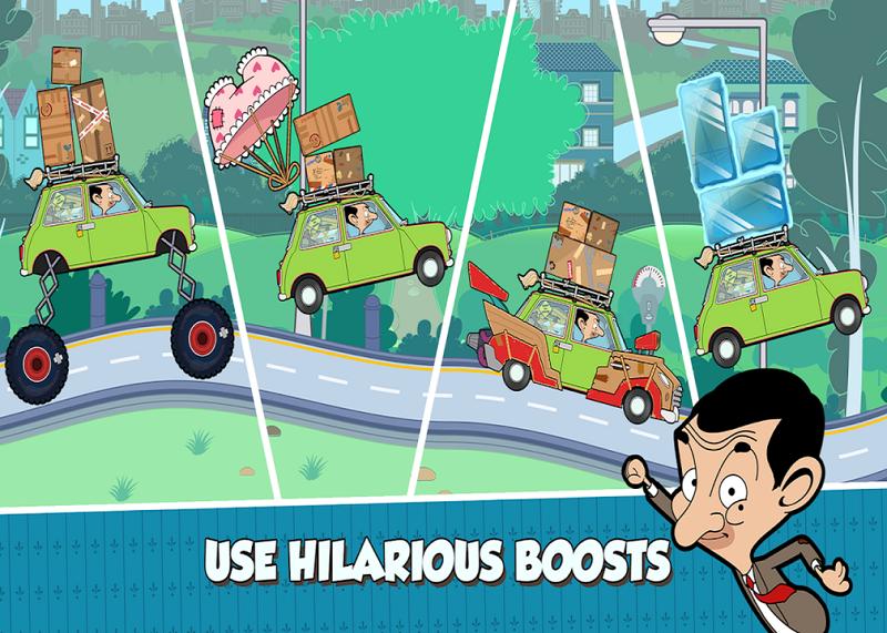 بازی Mr Bean – Special Delivery