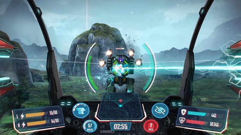 بازی Robot Warfare: Mech battle