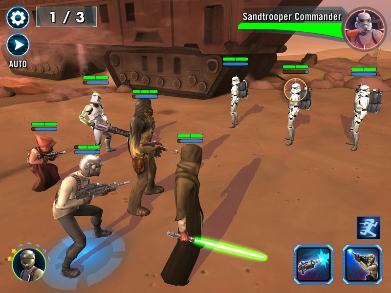 بازی Star Wars: Galaxy of Heroes