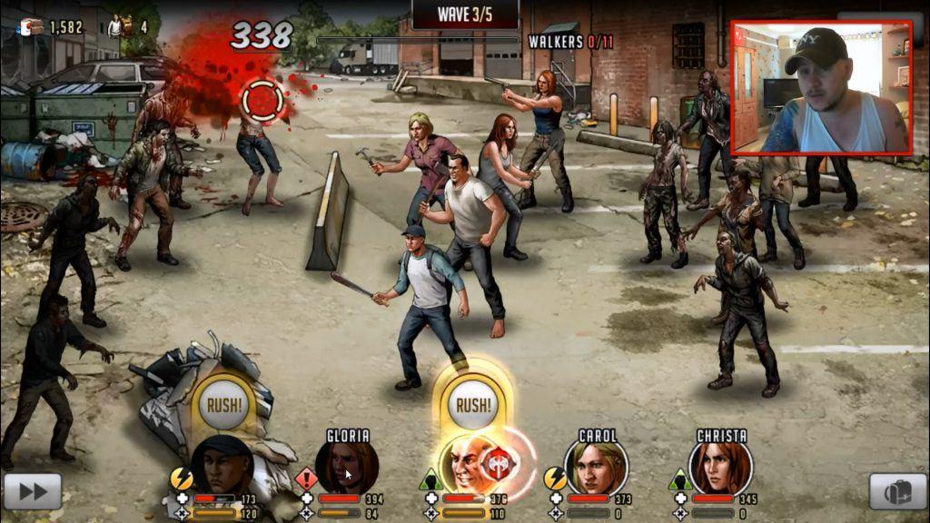 بازی The Walking Dead: Road to Survival